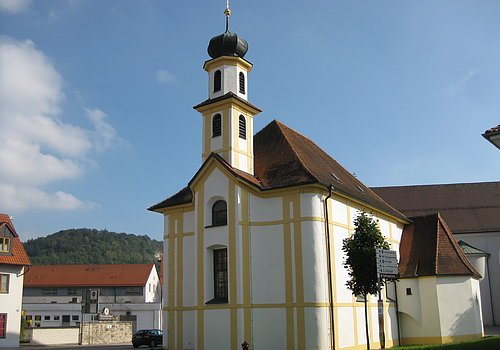 Die Frauenkirche in Beilngries